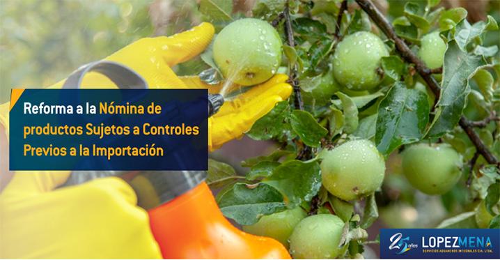 Se añade como documento de acompañamiento previo al embarque la Autorización de importación de fertilizantes y enmiendas de suelo, de uso agrícola.