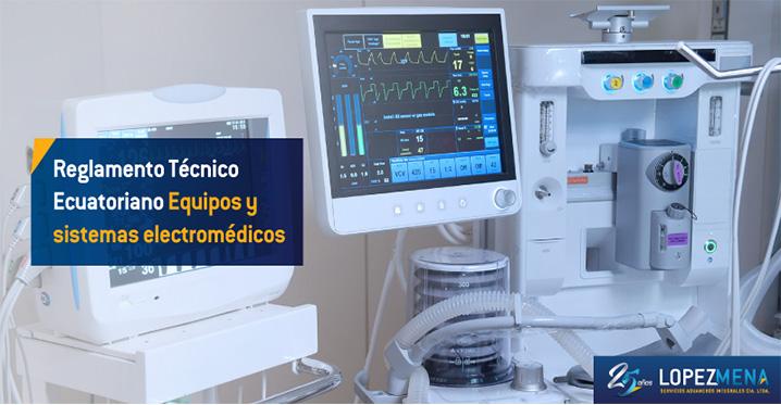 """Se aprueba el reglamento técnico ecuatoriano RTE INEN 186 (1R) """"Equipos y Sistemas Electromédicos""""."""