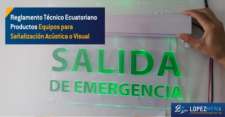 Se deroga el Reglamento Técnico Ecuatoriano RTE INEN 096 (1R)
